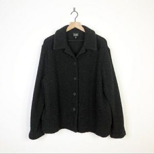 Eileen Fisher Boucle Wool Jacket